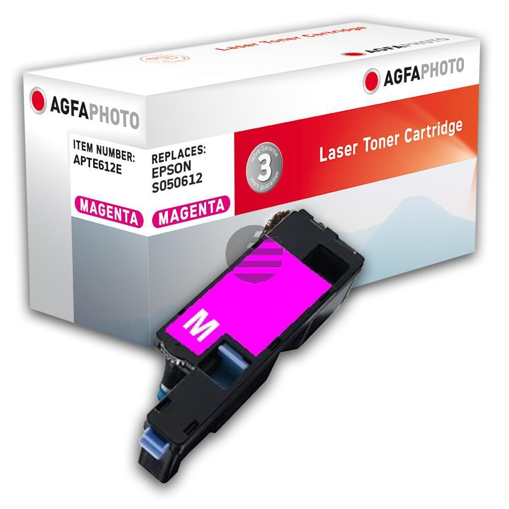 Agfaphoto Toner-Kartusche magenta (APTE612E)