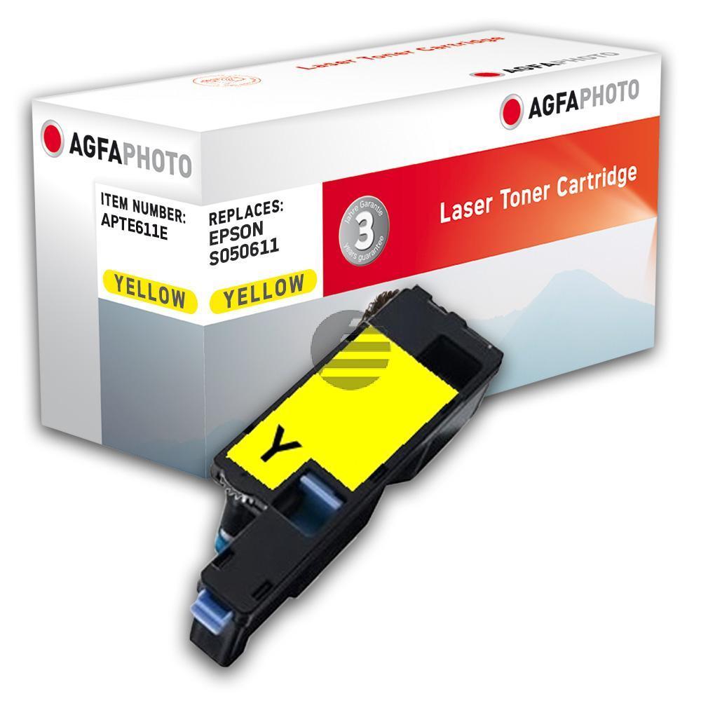 Agfaphoto Toner-Kartusche gelb (APTE611E)