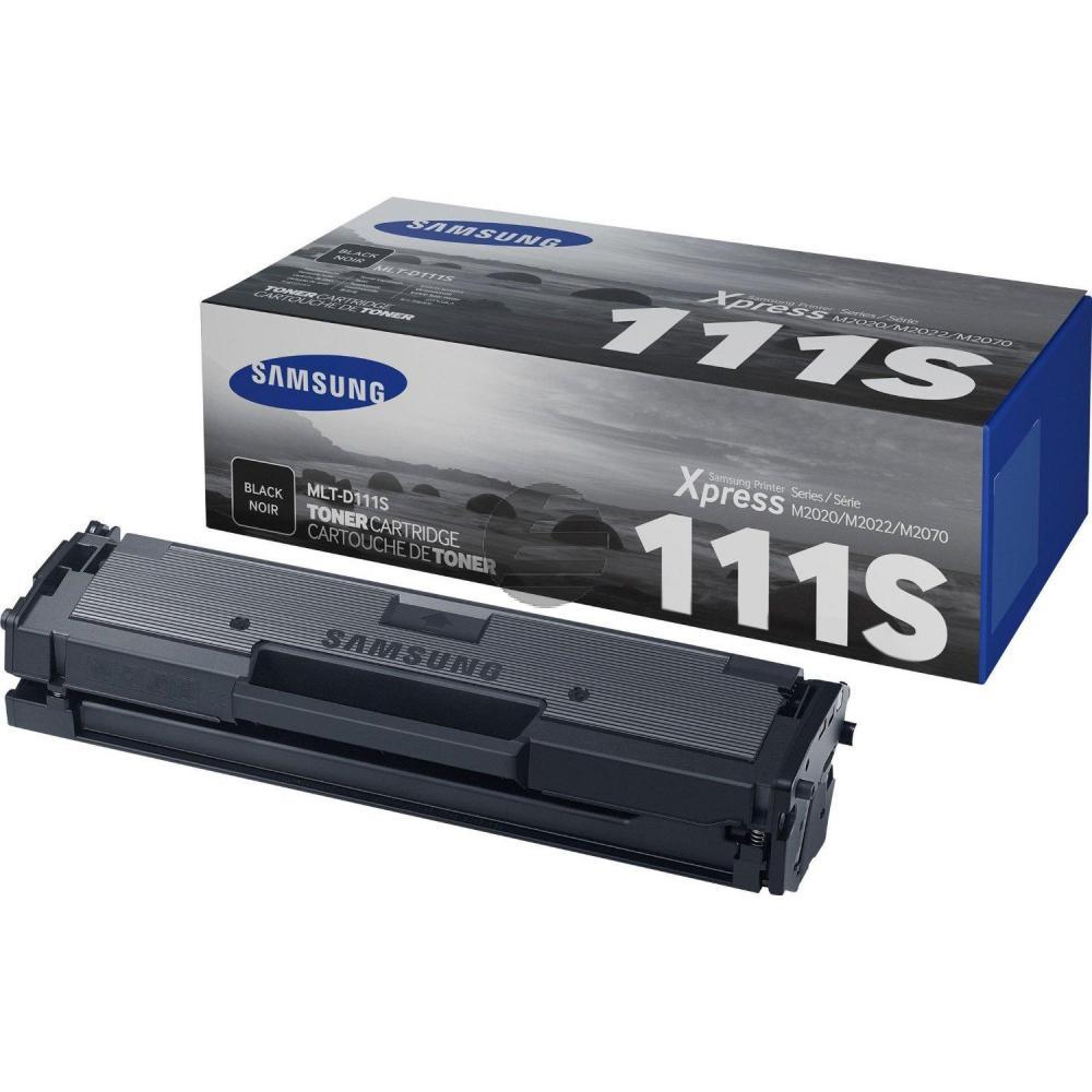 Samsung Toner-Kartusche schwarz (MLT-D111S/ELS, 111S)