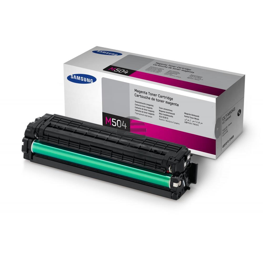 HP Toner-Kit magenta (SU292A, M504)