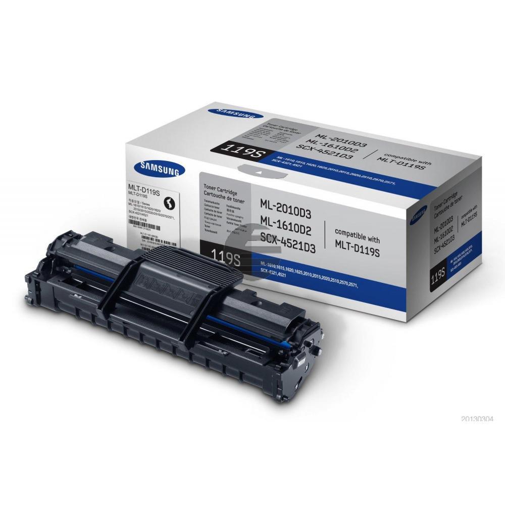 HP Toner-Kit schwarz (SU863A, 119S)