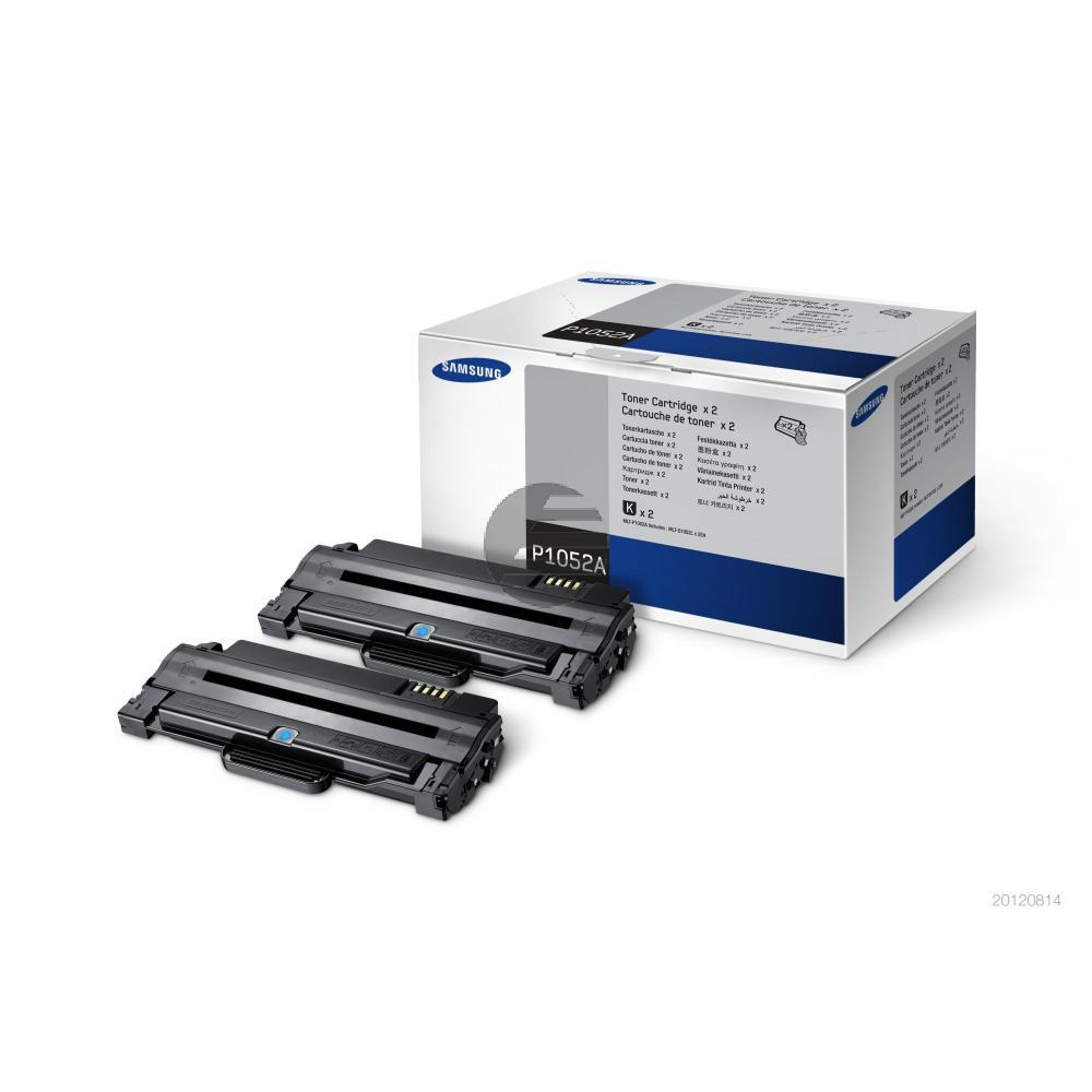 Samsung Toner-Kartusche 2x schwarz (SV115A, P1052)