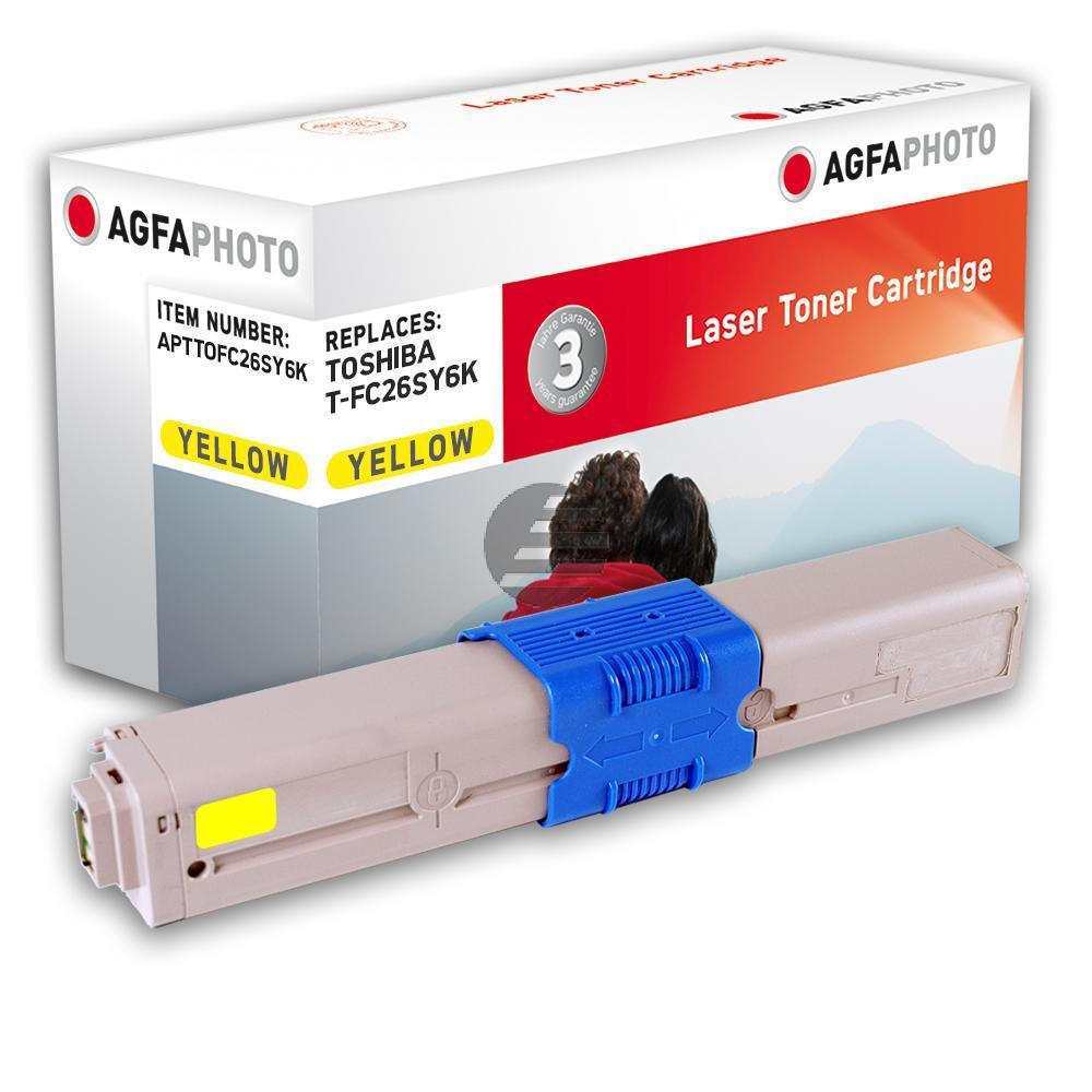 Agfaphoto Toner-Kit gelb (APTTOFC26SY6K)