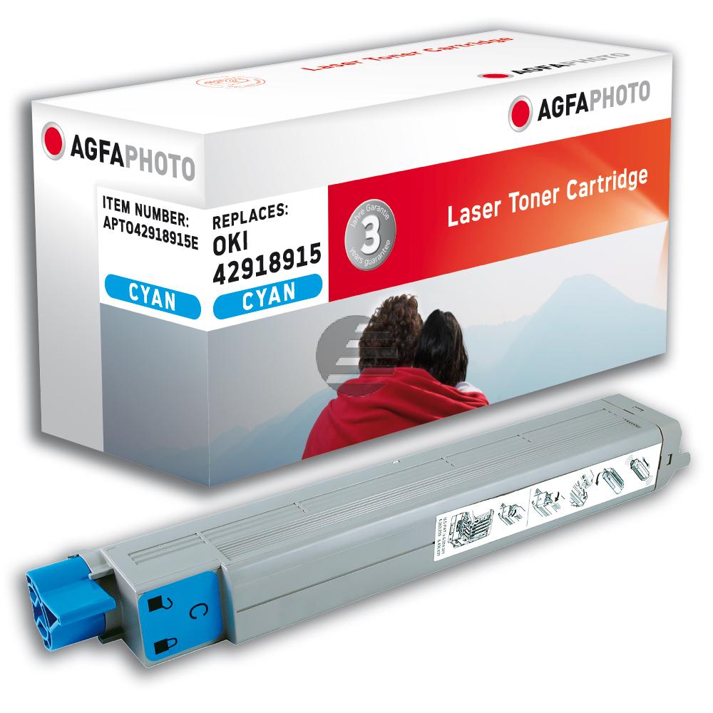 Agfaphoto Toner-Kit cyan (APTO42918915E)