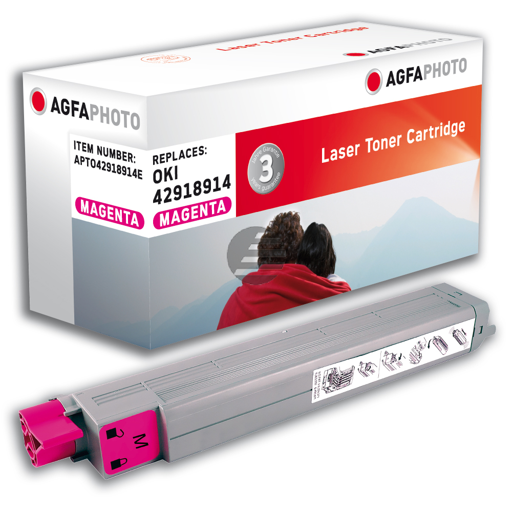 Agfaphoto Toner-Kit magenta (APTO42918914E)