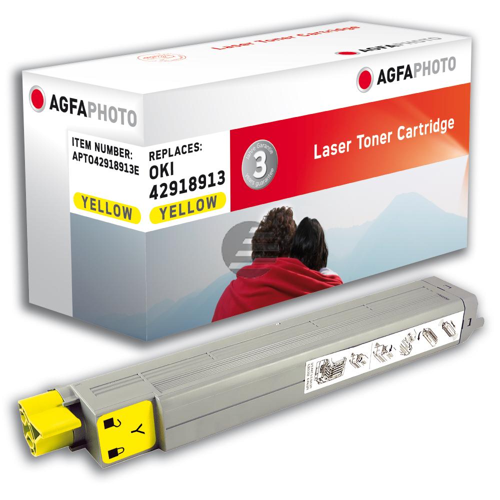 Agfaphoto Toner-Kit gelb (APTO42918913E)