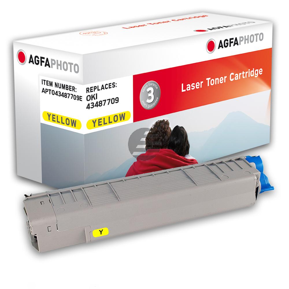 Agfaphoto Toner-Kit gelb (APTO43487709E)