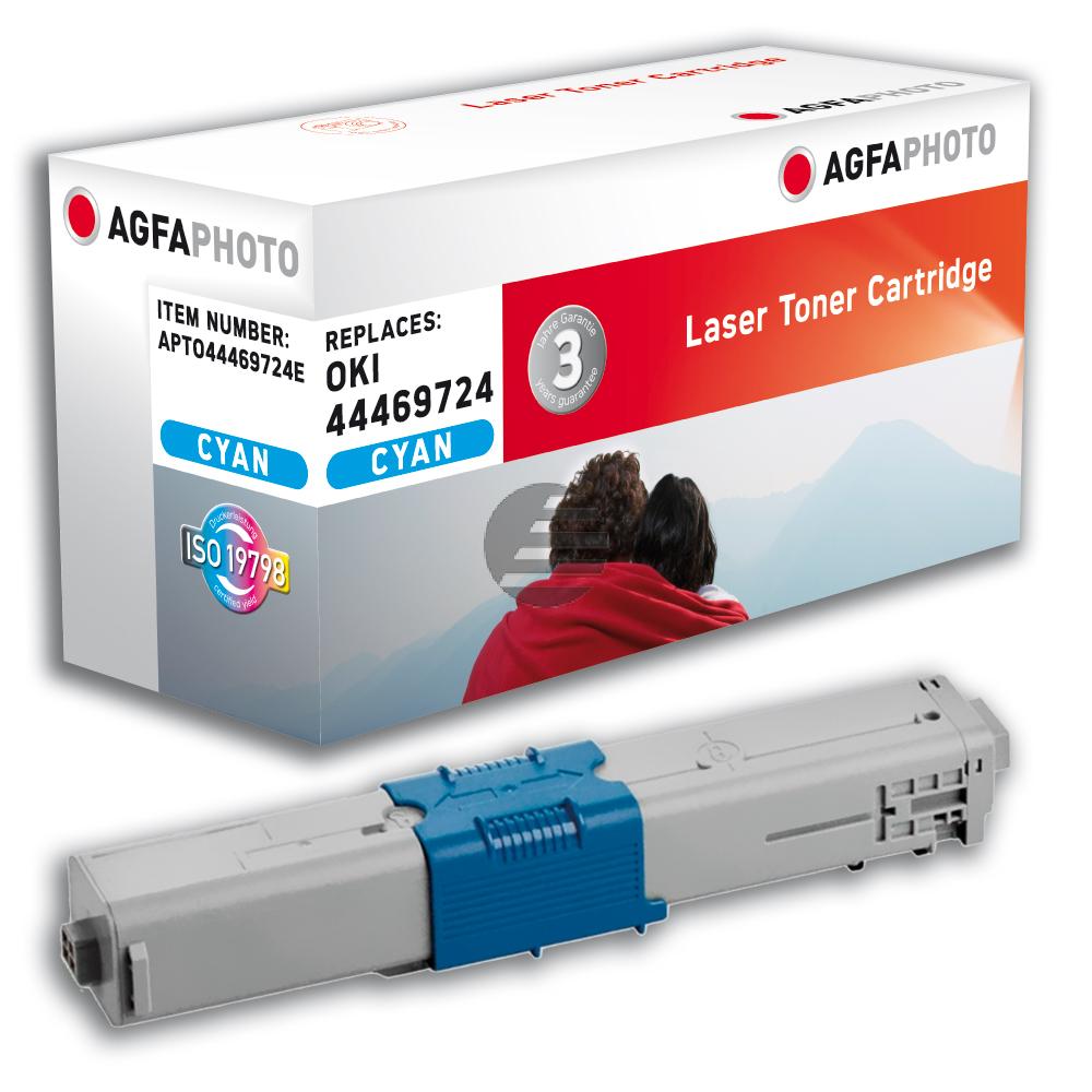 Agfaphoto Toner-Kit cyan (APTO44469724E)