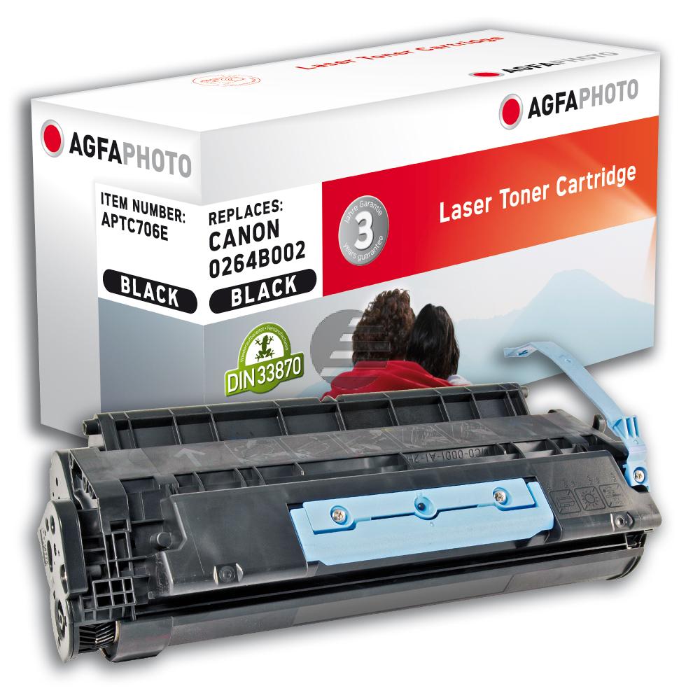 Agfaphoto Toner-Kartusche schwarz (APTC706E) ersetzt 0264B002 / 706