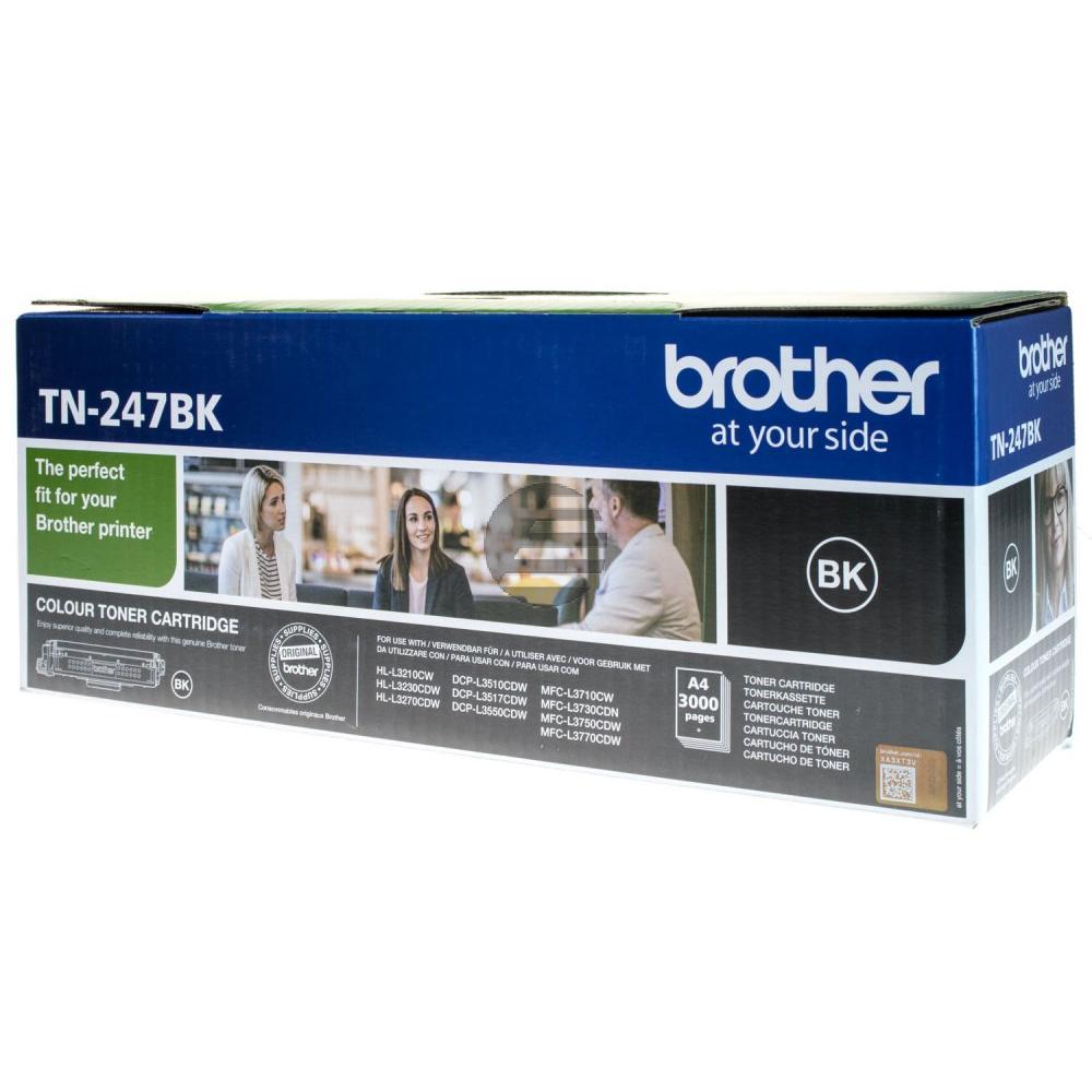 Brother Toner-Kartusche schwarz HC (TN-247BK)