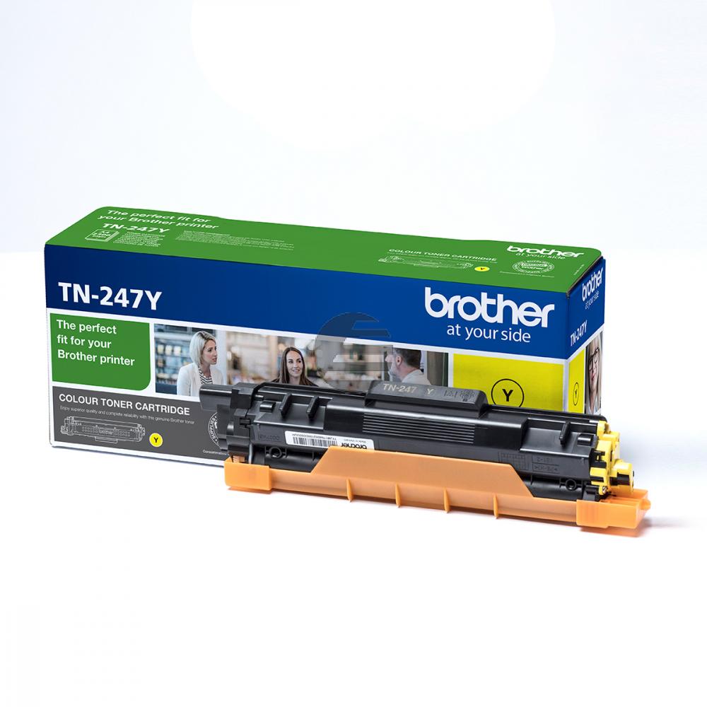 Brother Toner-Kartusche gelb HC (TN-247Y)