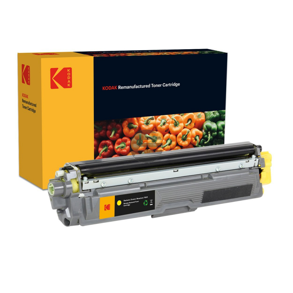 Kodak Toner-Kit gelb HC (185B024504) ersetzt TN-245Y / TN-246Y