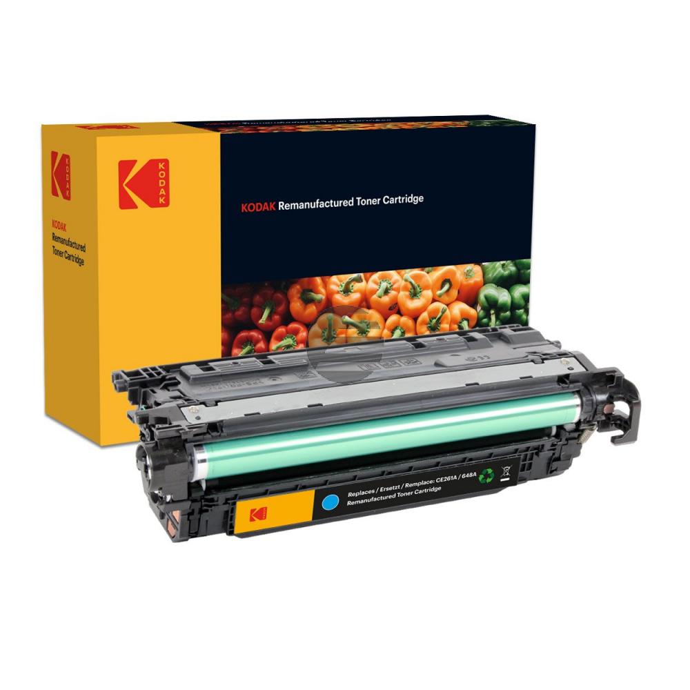 Kodak Toner-Kartusche cyan (185H026102) ersetzt CE261A / 648A