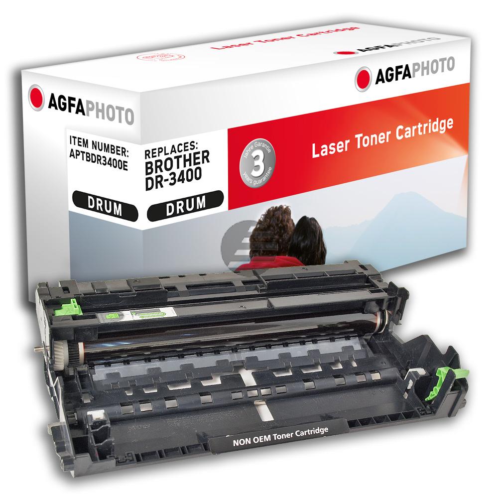Agfaphoto Fotoleitertrommel schwarz (APTBDR3400E) ersetzt DR-3400