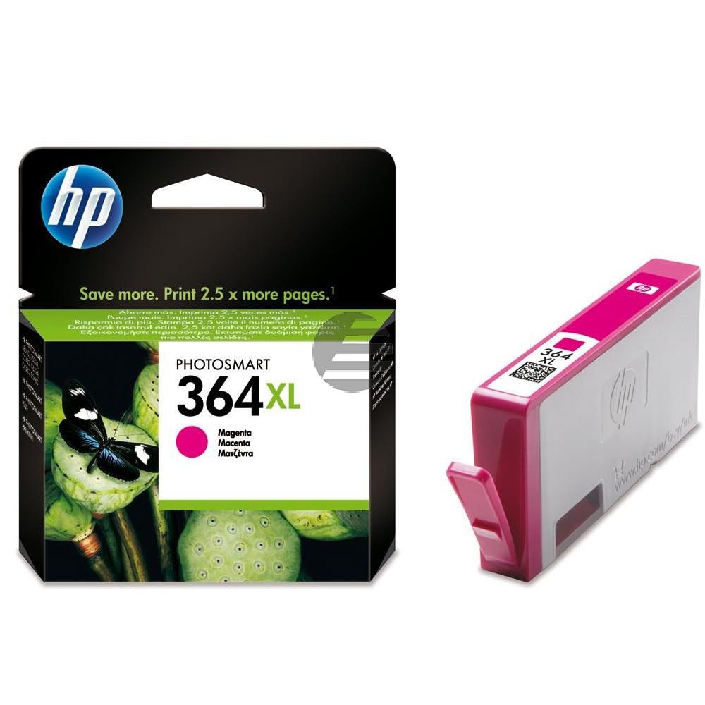 HP Tintenpatrone magenta HC (CB324EE#ABE, 364XL)