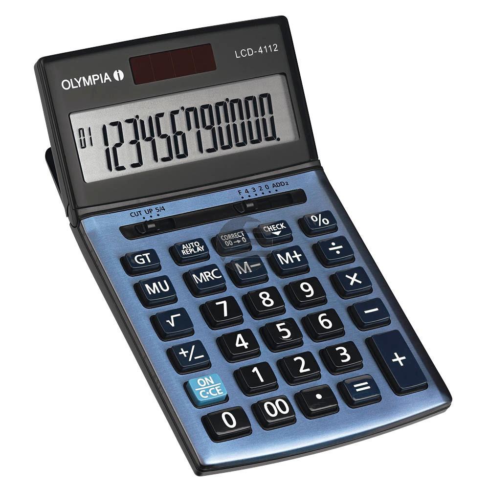 Olympia Tischrechner LCD 4112 12-stellig (941911002)