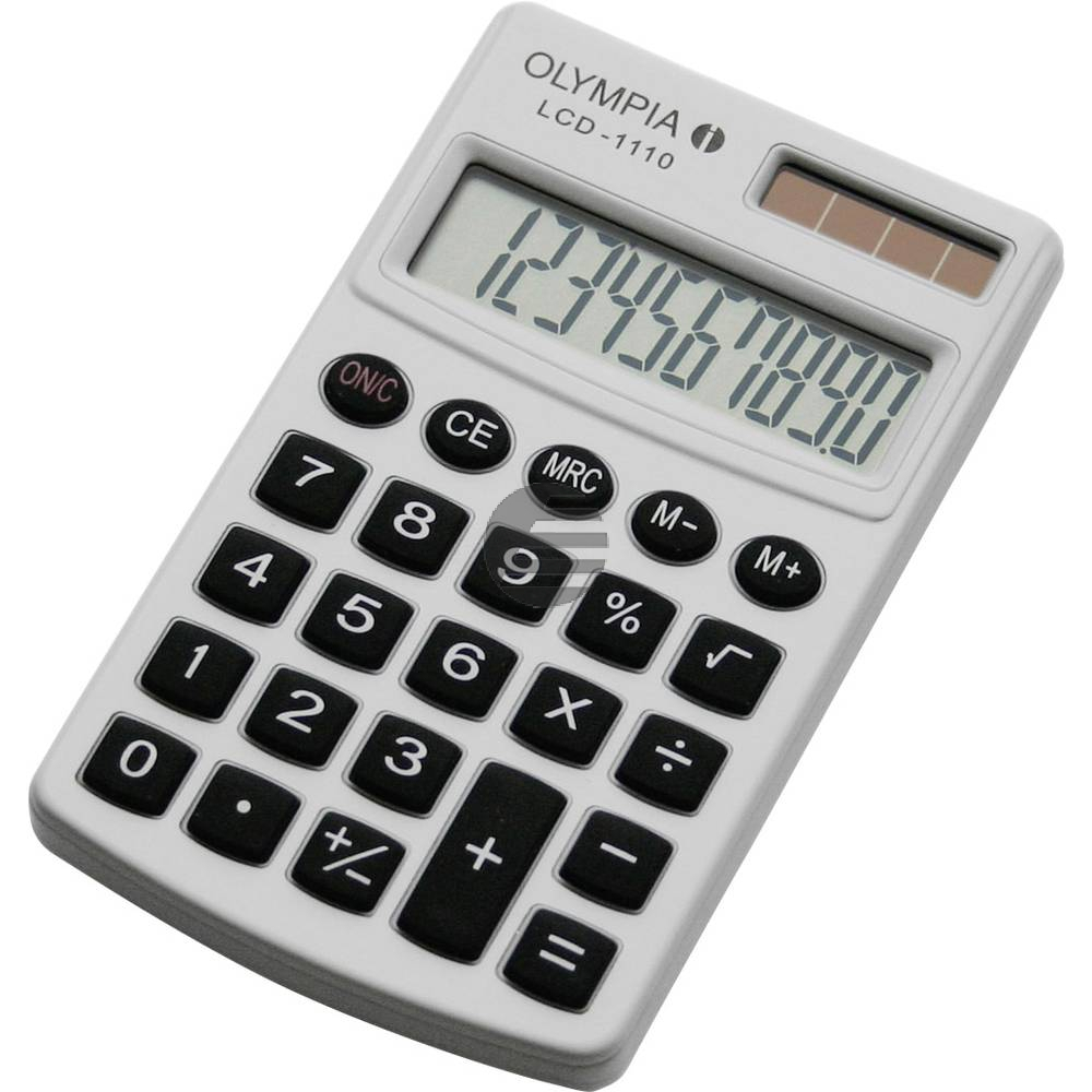 Olympia Taschenrechner LCD 1110 10-stellig (941901003)