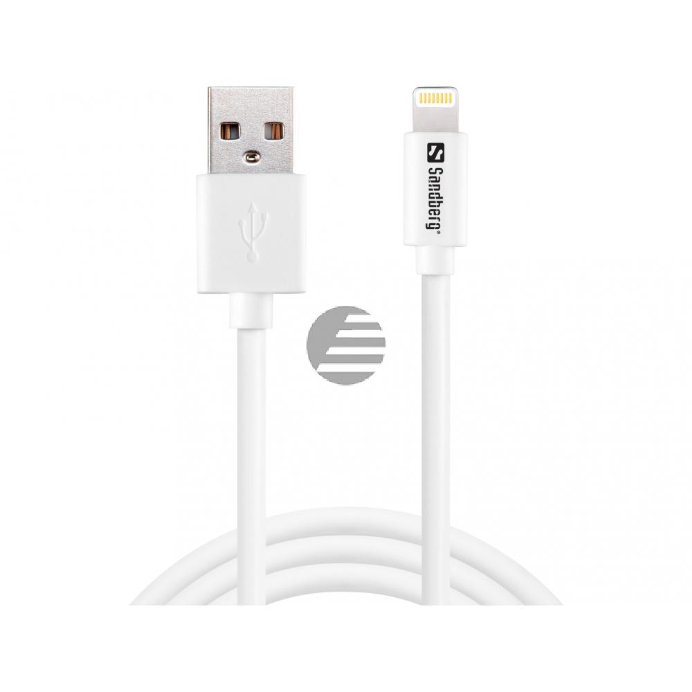 Sandberg USB>Lightning 1m AppleApproved