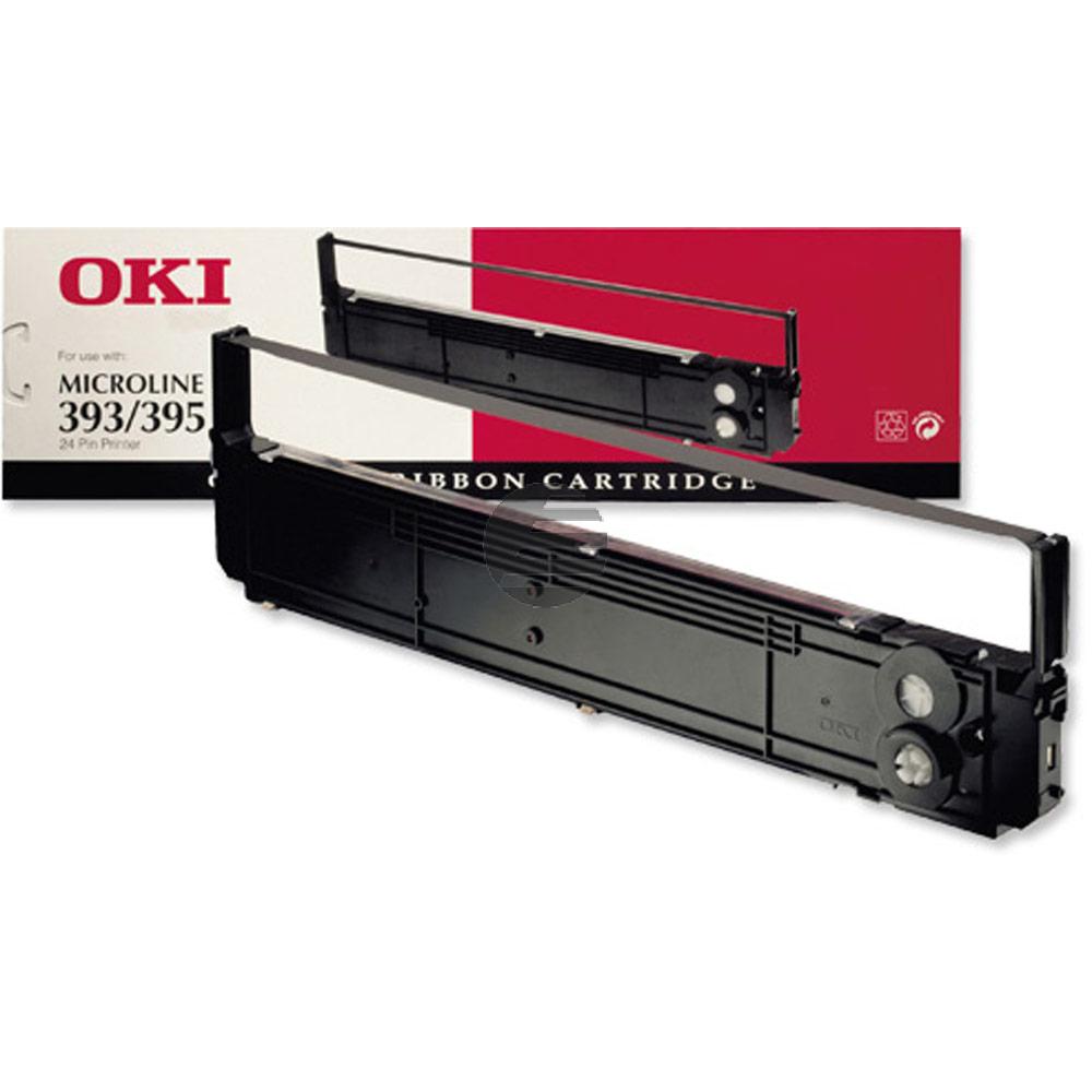 OKI Farbband Nylon schwarz (09002311)