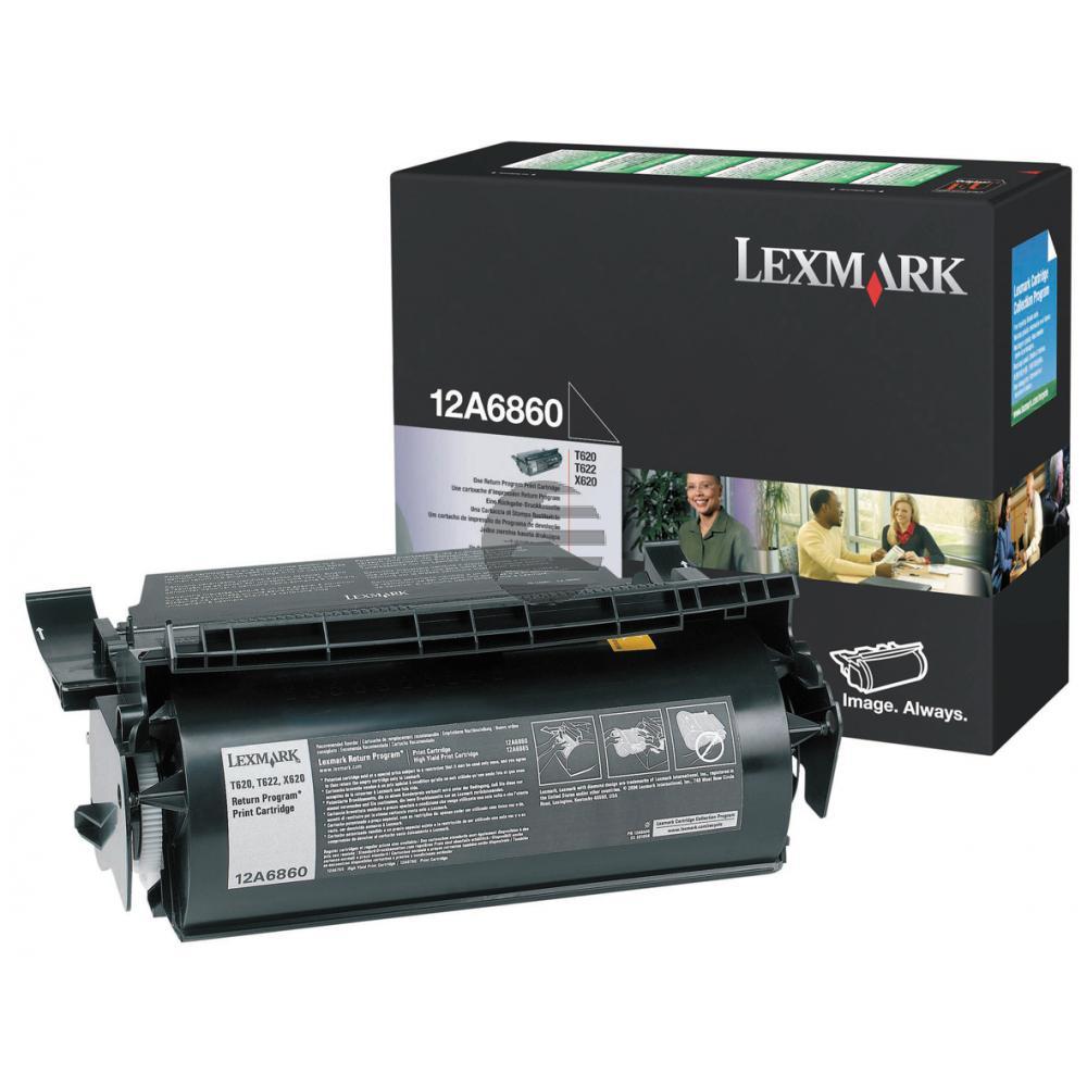 Lexmark Toner-Kartusche Prebate schwarz (12A6860)