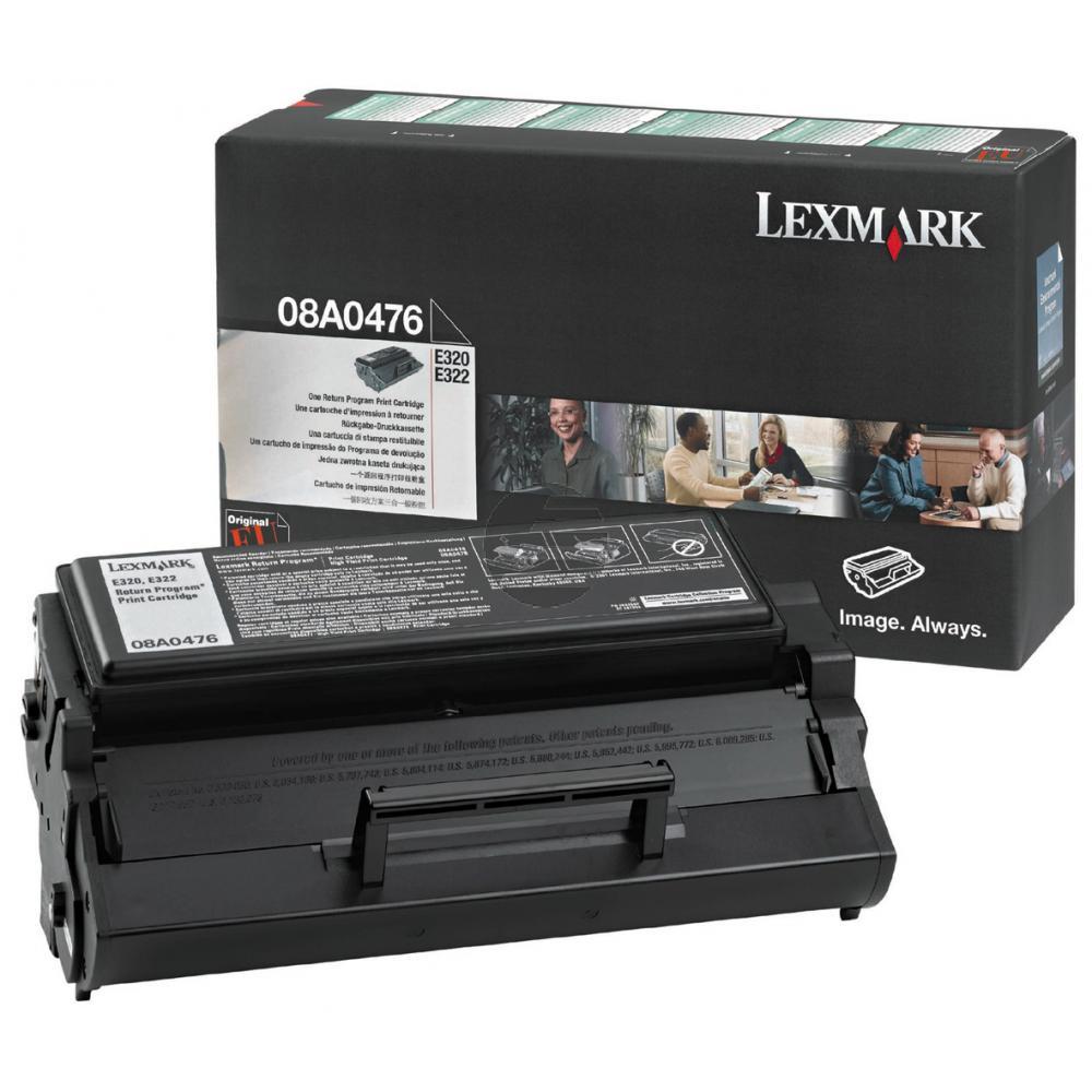 Lexmark Toner-Kartusche Prebate schwarz (08A0476)