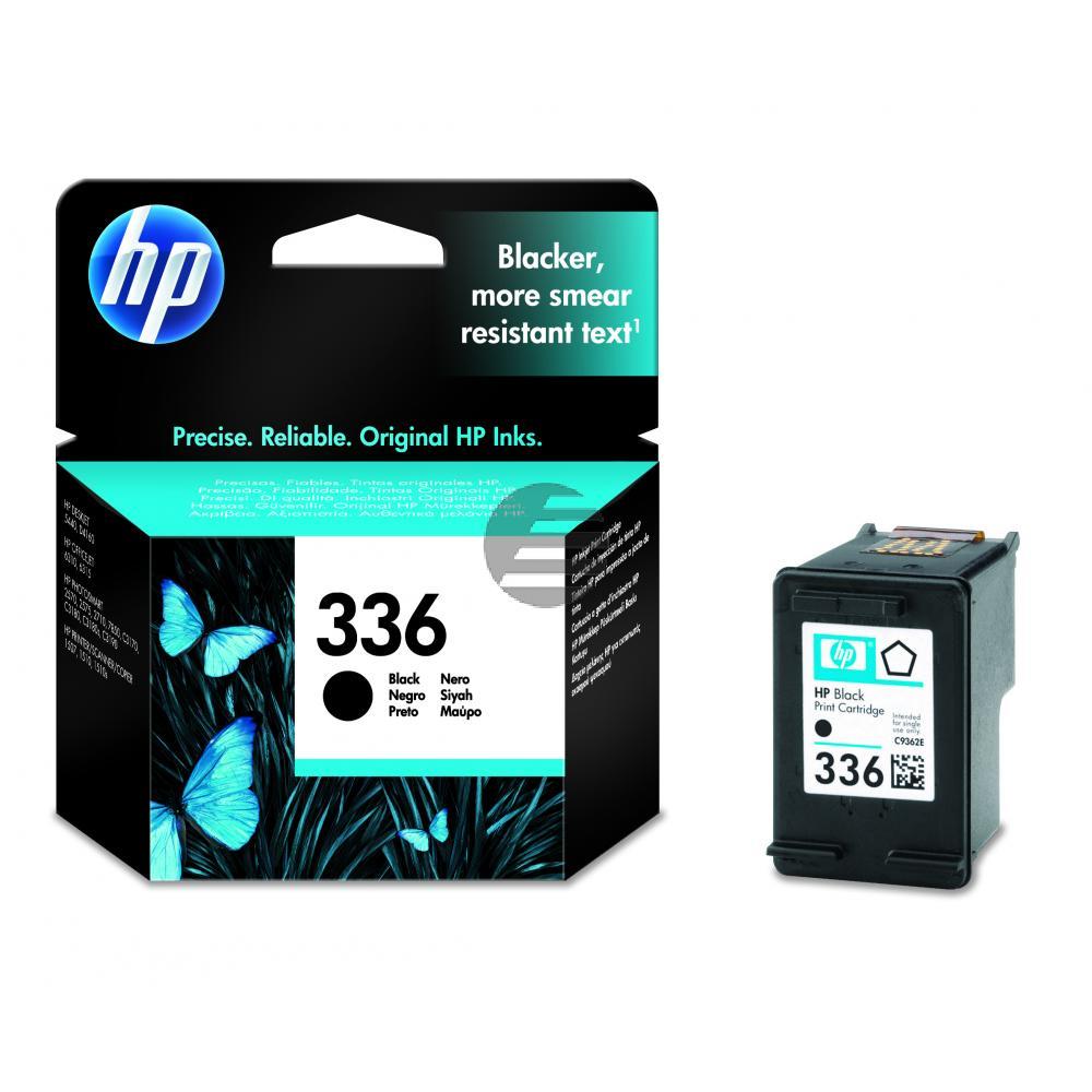 HP Tintenpatrone schwarz LC (C9362EE, 336)