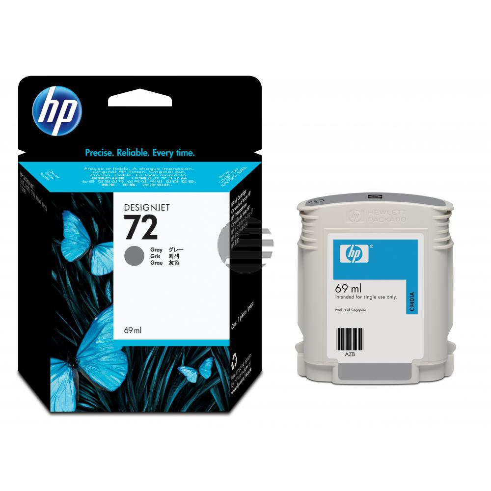 HP Tintenpatrone grau (C9401A, 72)