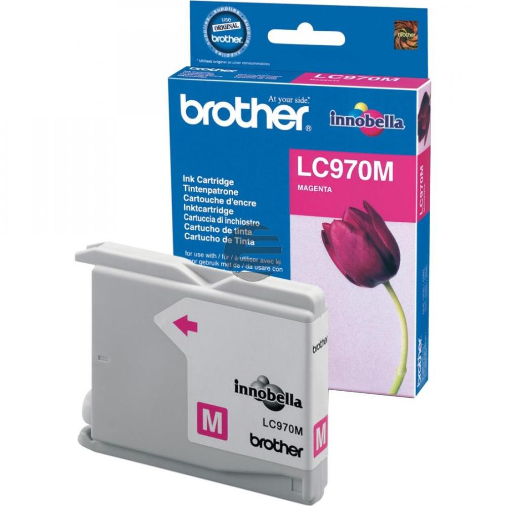 Brother Tinte Magenta (LC-970M)