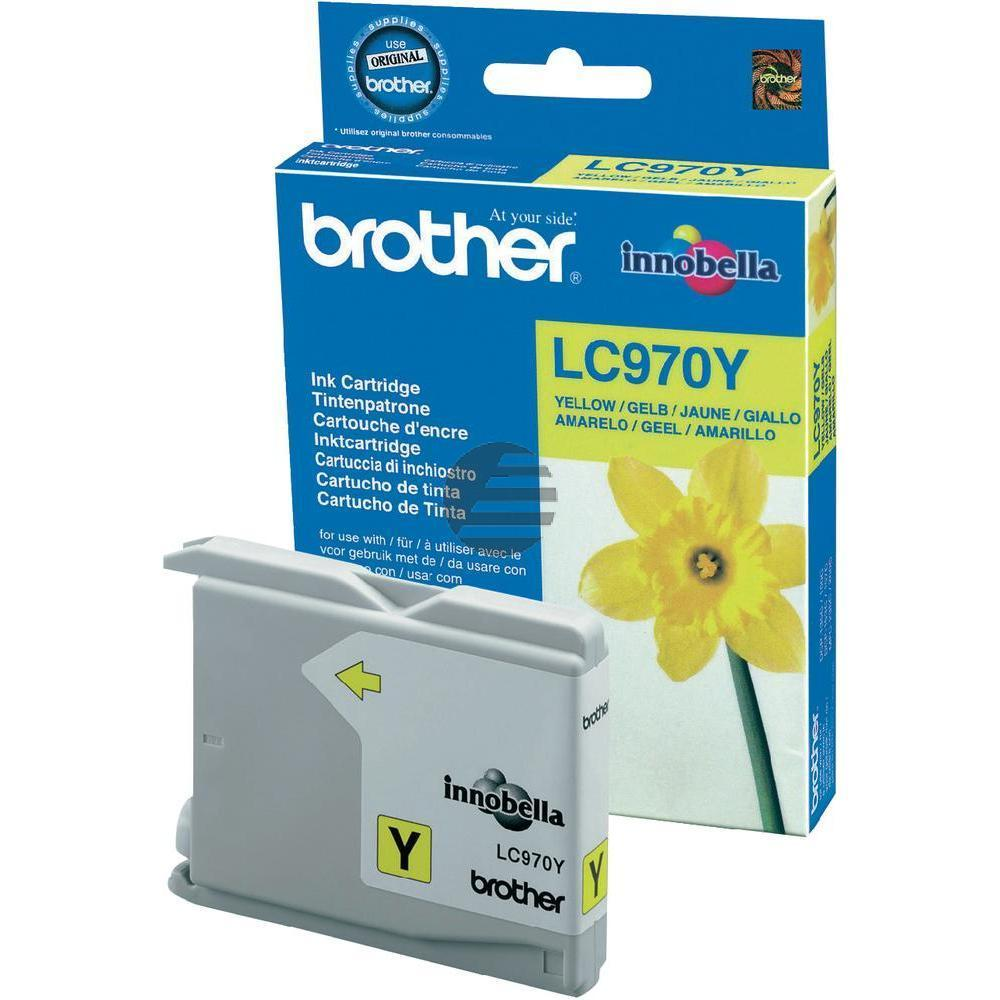 Brother Tinte gelb (LC-970Y)