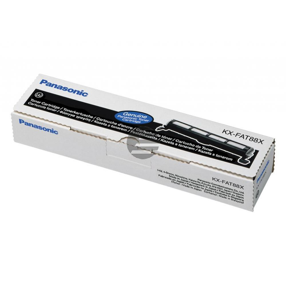 Panasonic Toner-Kit schwarz (KX-FAT88X)