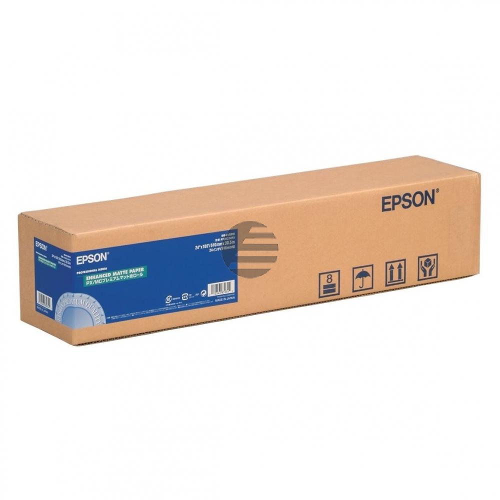 Epson Enhanced Matte Paper Roll 24 X30,5m weiß (C13S041595)