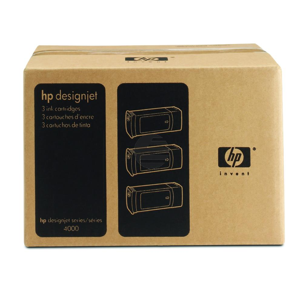 HP Tintenpatrone 3x gelb (C5085A, 3x 90)