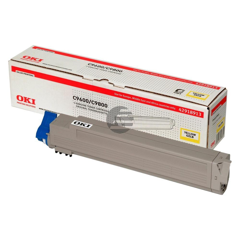 OKI Toner-Kit gelb HC (42918913)
