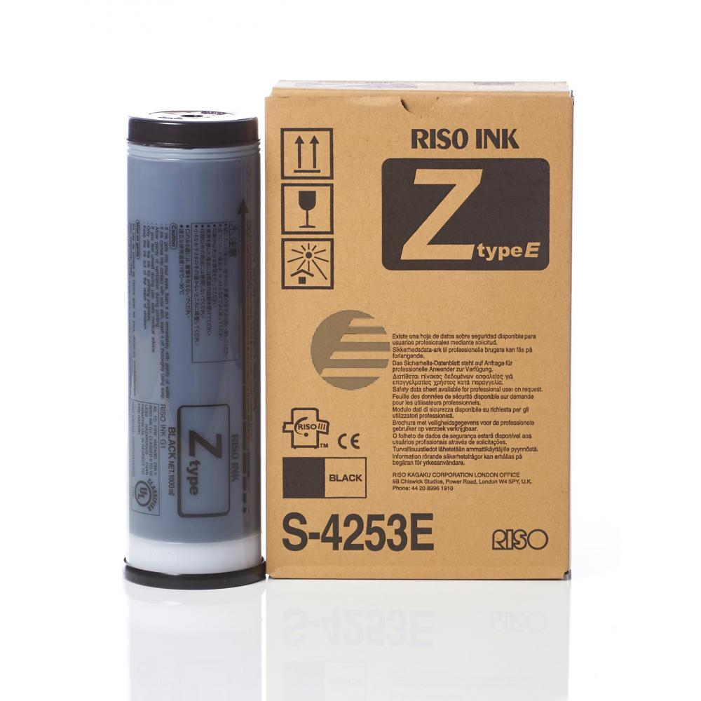 Riso Tintenpatrone 2 x schwarz 2-Pack (S-4253E)