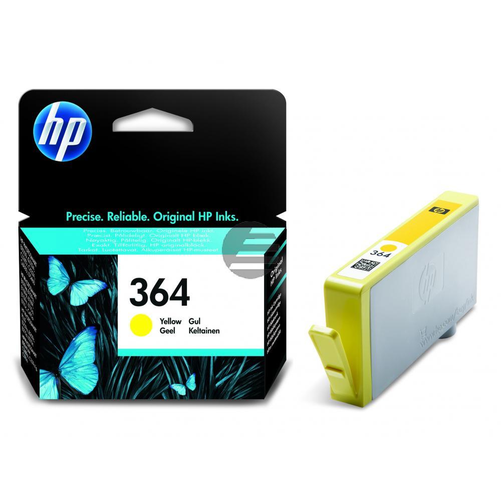 HP Tinte gelb (CB320EE, 364)