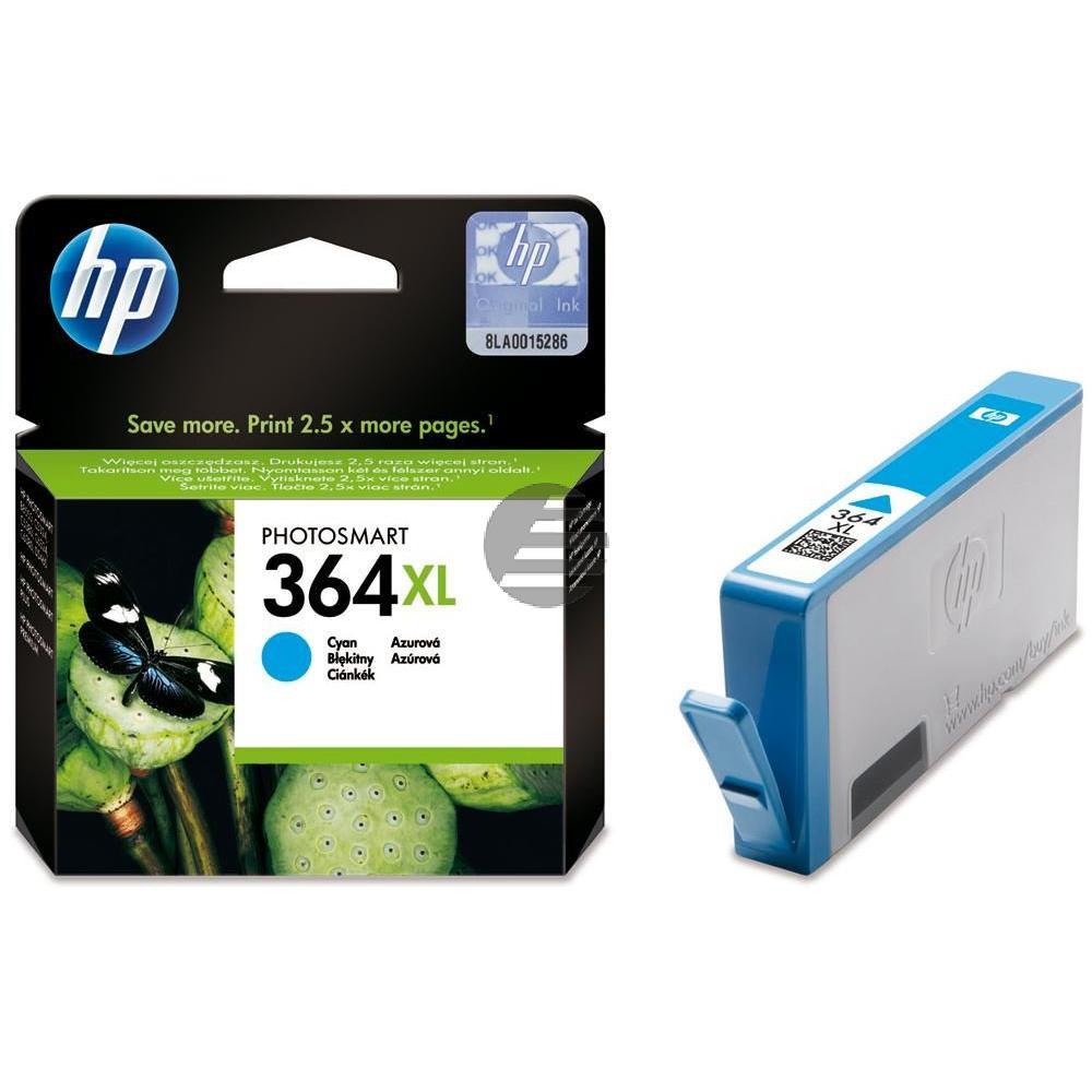 HP Tinte Cyan HC (CB323EE, 364XL)