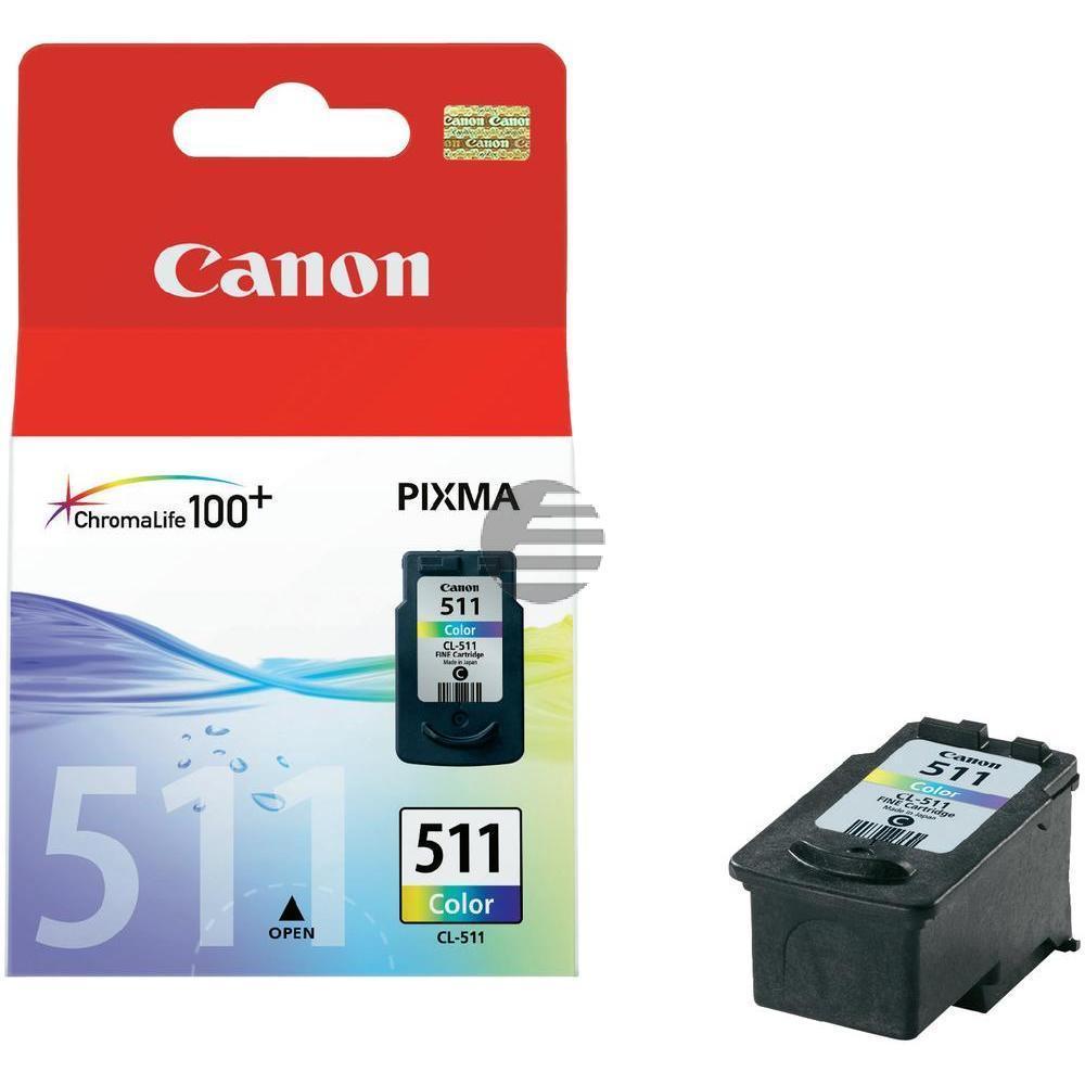 Canon Tinte 3-farbig (2972B001, CL-511)