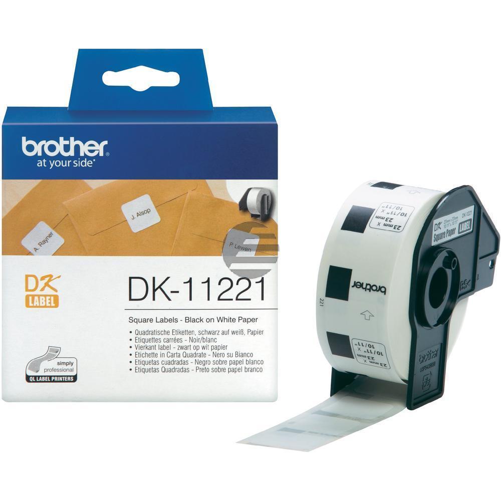 Brother Etiketten weiß (DK11221)