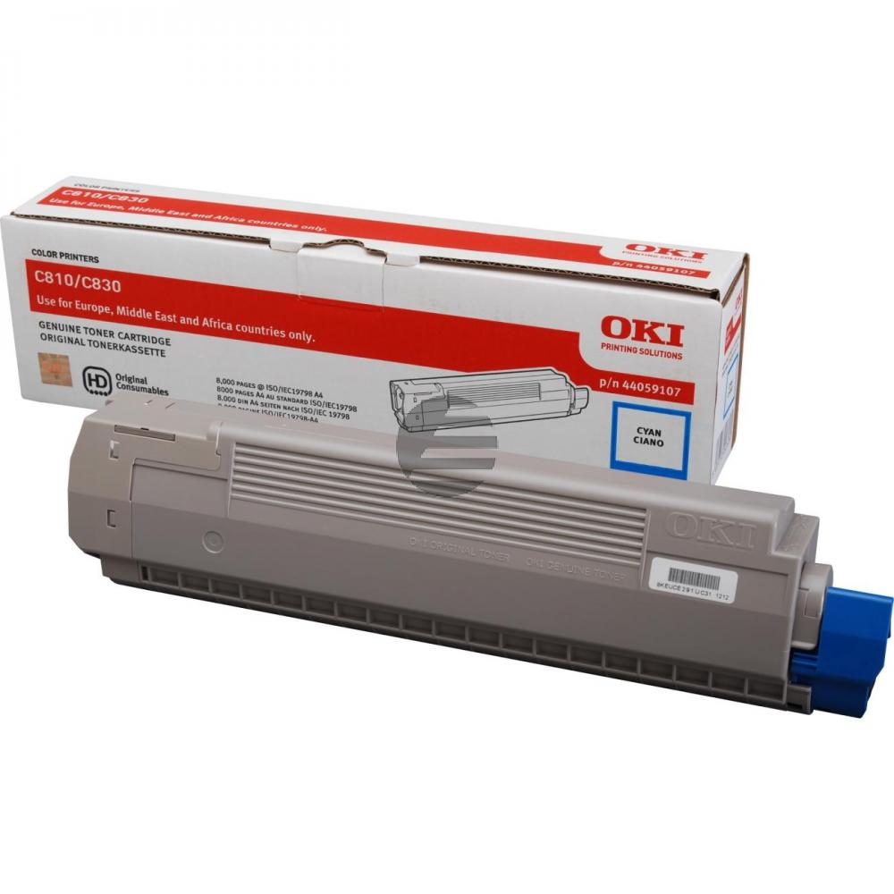 OKI Toner-Kit cyan (44059107)