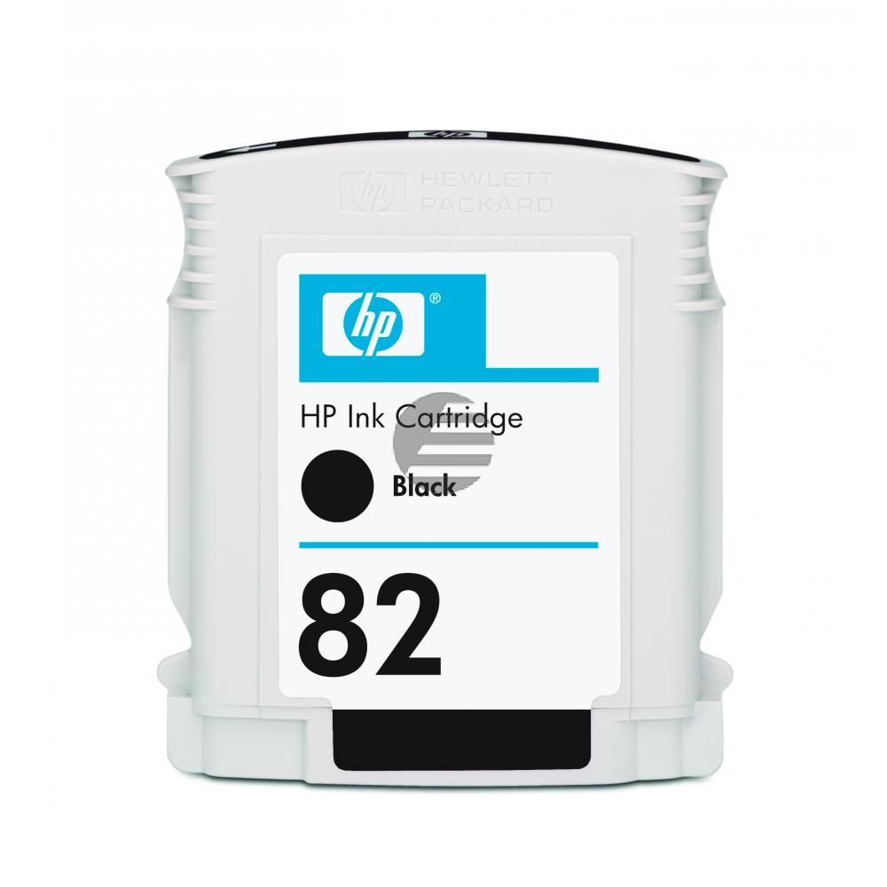 HP Tinte schwarz (CH565A, 82)