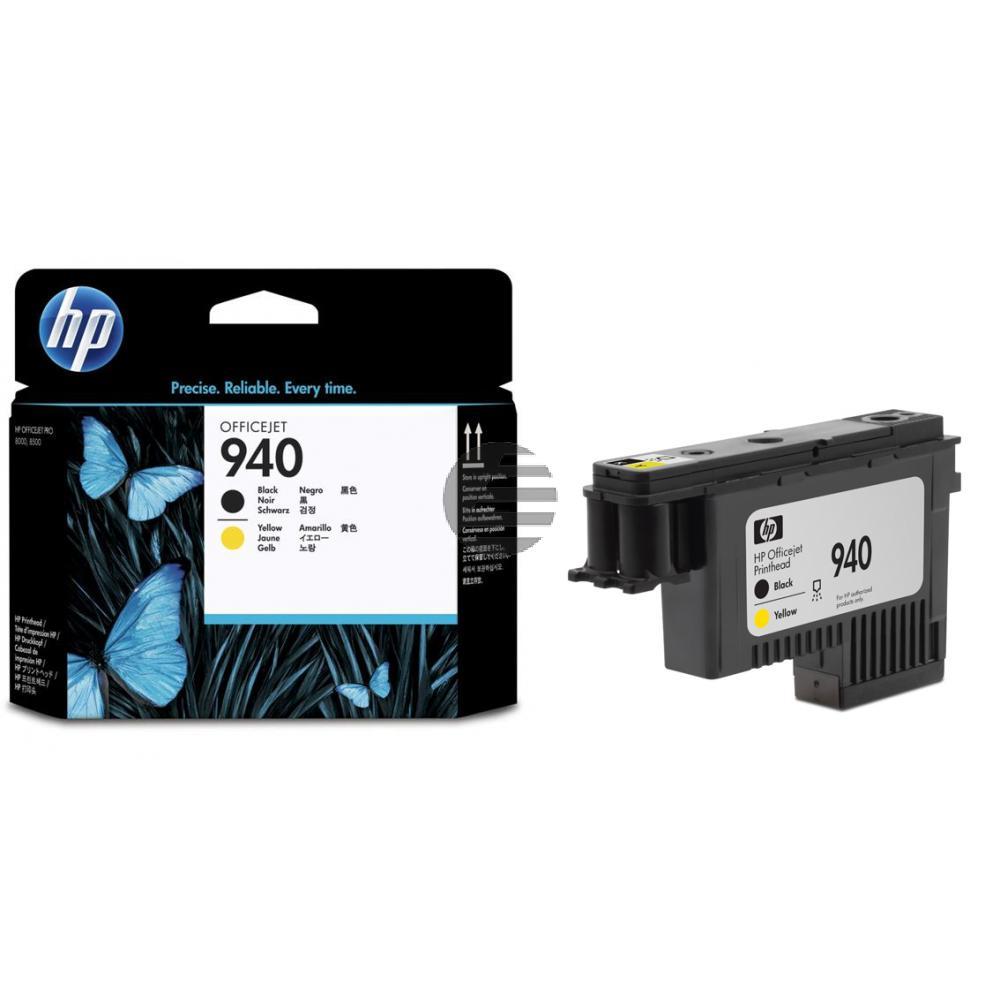 HP Tintendruckkopf schwarz/gelb (C4900AE, 940)