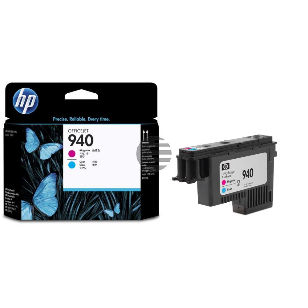 HP Tintendruckkopf Cyan/Magenta (C4901AE, 940)
