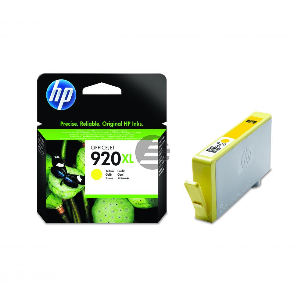 HP Inktpatroon geel High-Capacity (CD974AE, 920XL)
