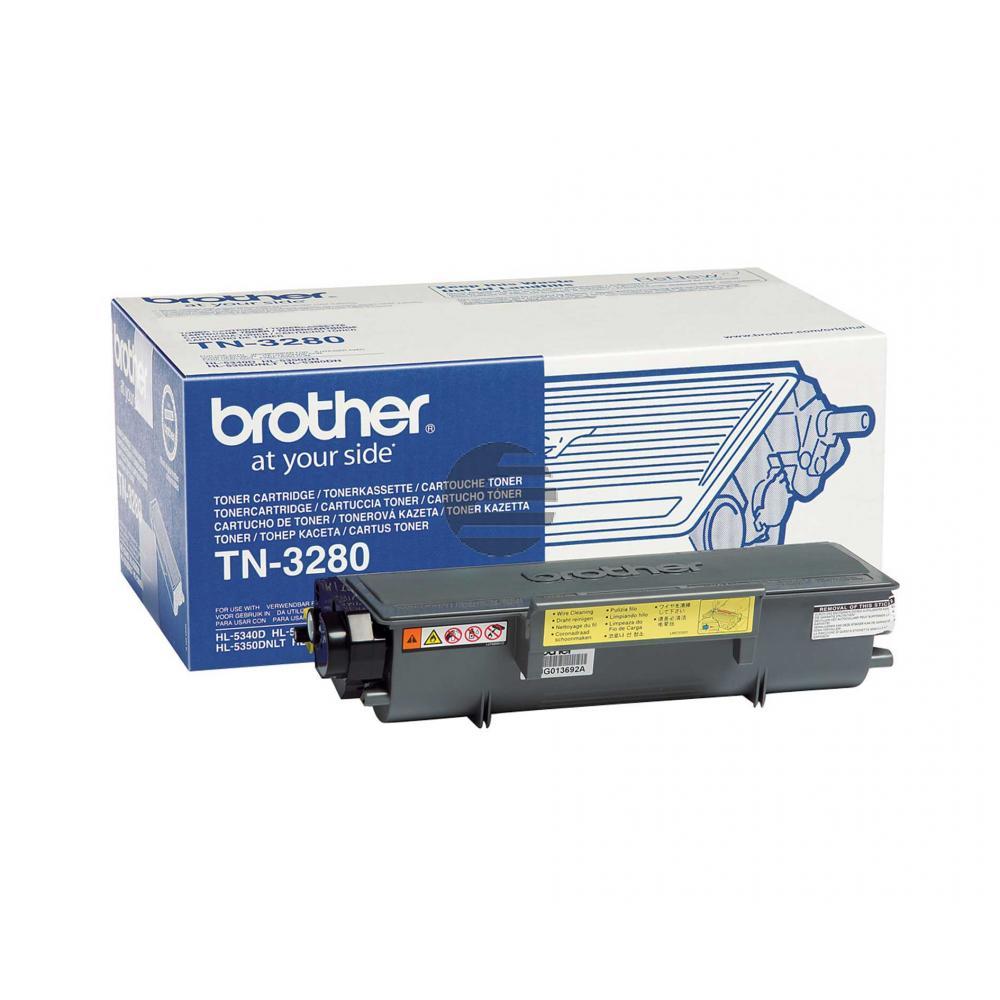 Brother Toner-Kit schwarz HC (TN-3280)