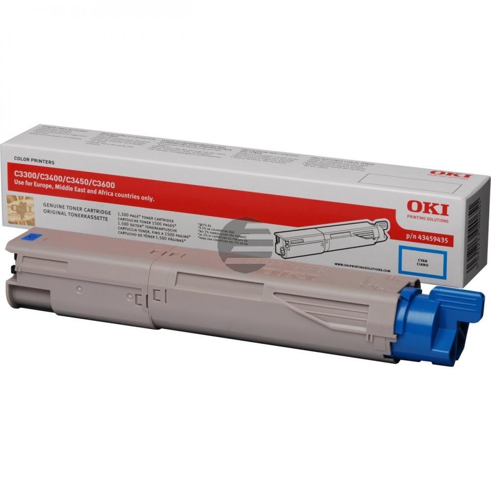 OKI Toner-Kit cyan HC (43459435)