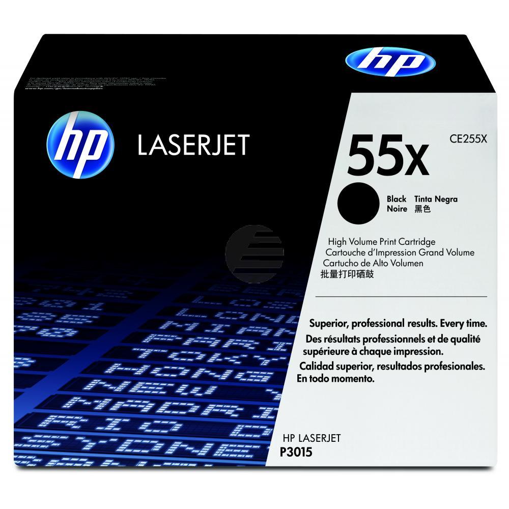 HP Toner-Kartusche schwarz HC (CE255X, 55X)