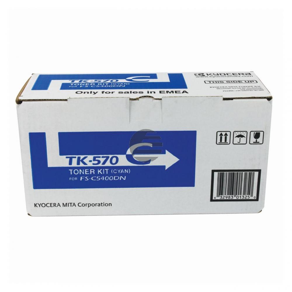 Kyocera Toner-Kit cyan (1T02HGCEU0, TK-570C)