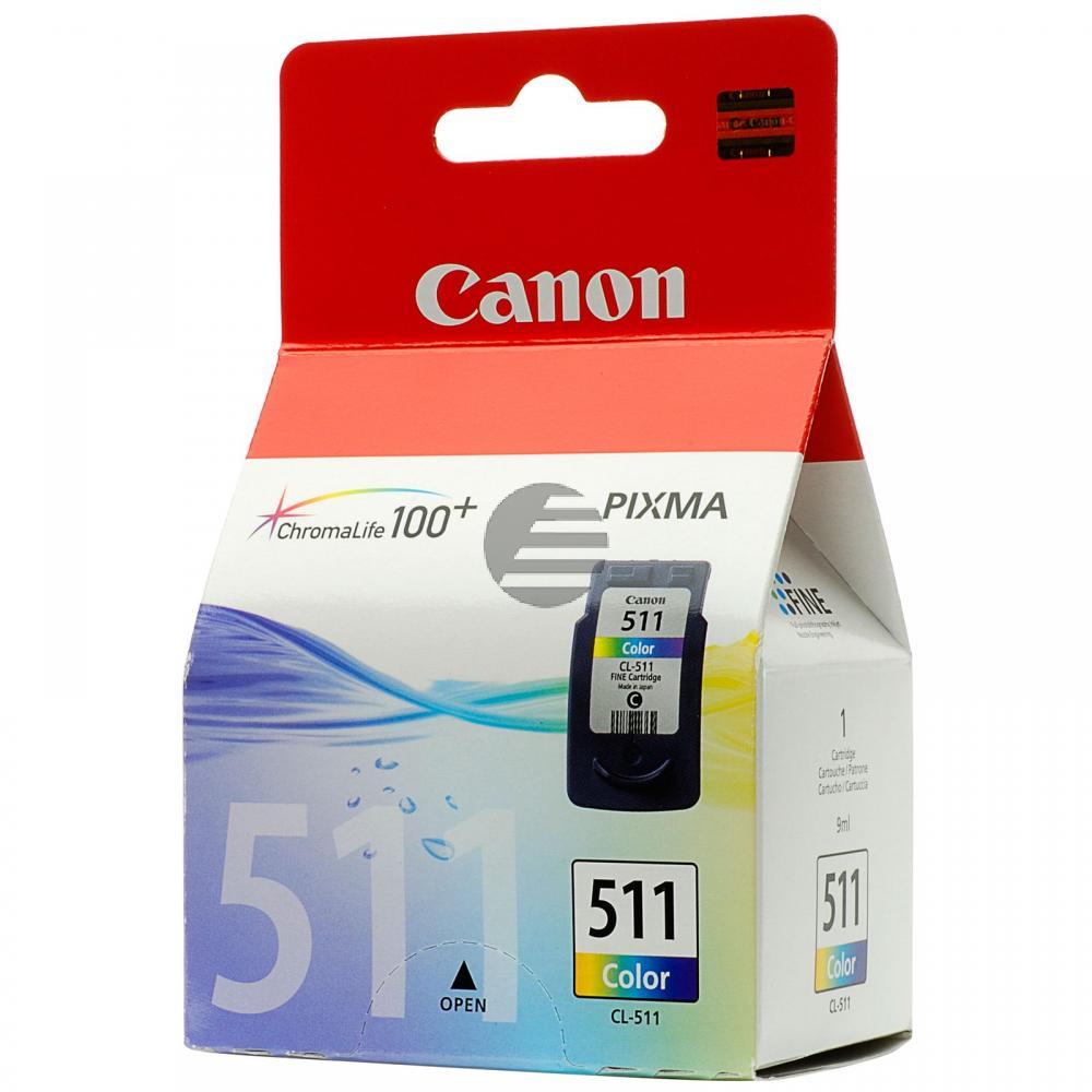Canon Tintenpatrone 3-farbig (2972B009, CL-511)