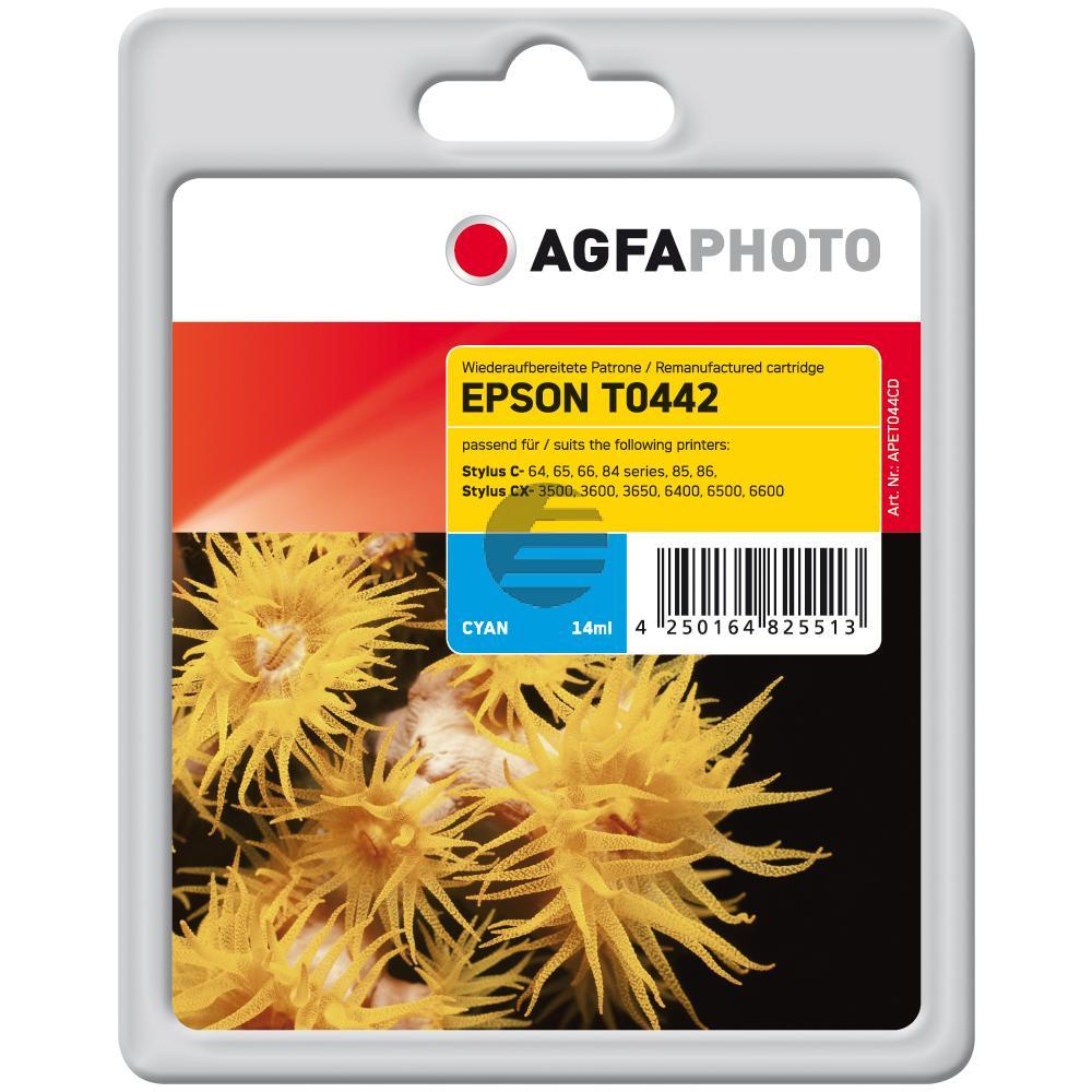 Agfaphoto Tintenpatrone cyan HC (APET044CD)