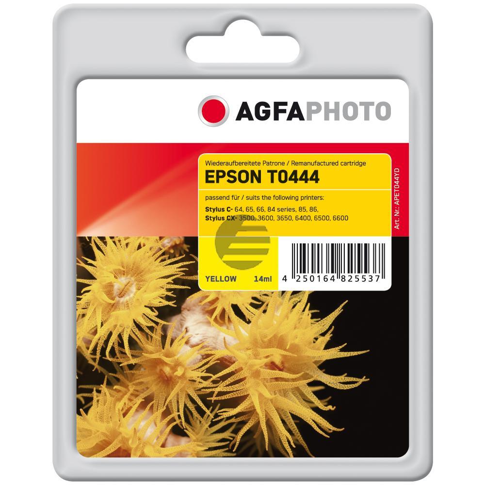 Agfaphoto Tintenpatrone gelb HC (APET044YD)